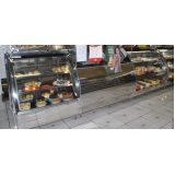 balcão de vidro para açougue refrigerado em Cajamar