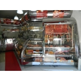 balcão refrigerado inox 3 portas Ribeirão Corrente