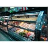 balcão refrigerado inox encosto em Jaboticabal