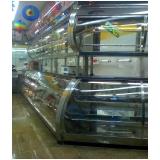 balcão refrigerado inox para alimento preço Cambé