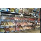 balcão refrigerado inox para avícola preço Sabino