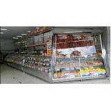 balcão refrigerado inox para avícola Ibirá