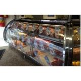 balcão refrigerado inox para doce preço Agudos