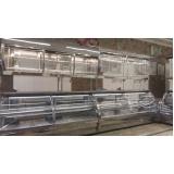 balcão refrigerado inox Balbinos