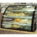 balcão refrigerado para doce preço Pilar do Sul