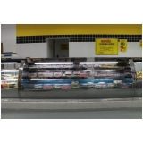 balcão refrigerado para supermercado Descalvado