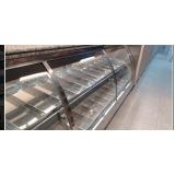 balcão refrigerado para rotisserie