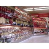 balcões refrigerados inox para docerias Guareí