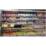 expositor refrigerado para fruta preço Avaré