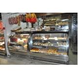 expositor refrigerado para padaria na Porangaba