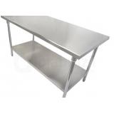 mesa para açougue de inox preço Birigui
