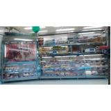 quanto custa balcão refrigerado inox para doce na Araçariguama