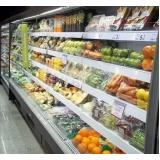 quanto custa expositor refrigerado para fruta Pacaembu