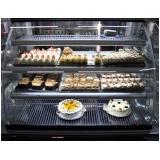 quanto custa vitrine refrigerada para bolos Echaporã