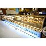 venda de balcões refrigerados para padaria Nipoã