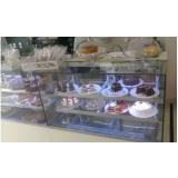 vitrine refrigerada para bolos Borá