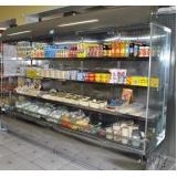 vitrine refrigerada pequena na Severínia